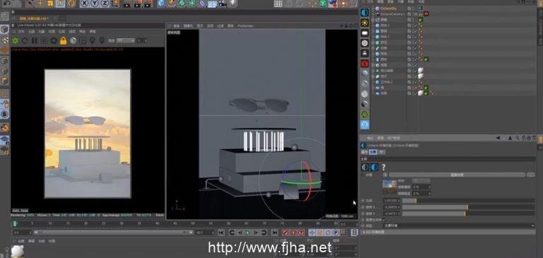 C4D-Octane电商产品视频截图