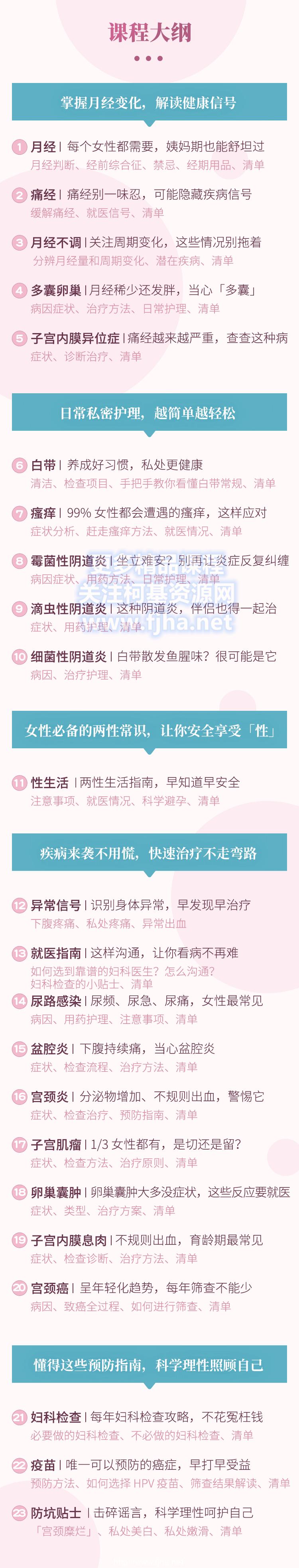 丁香医生:女性健康必修课·告别妇科小问题、大毛病