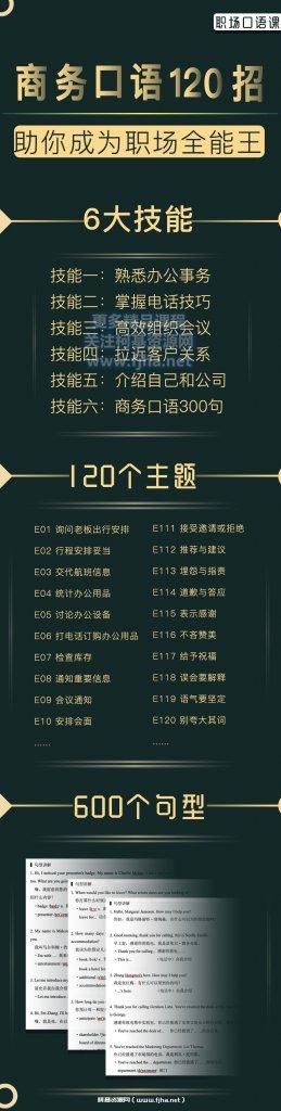 夏说文英:【职场技能】商务口语120招