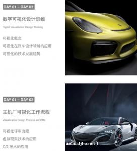 UE4汽车影视级数字可视化设计2020高清视频